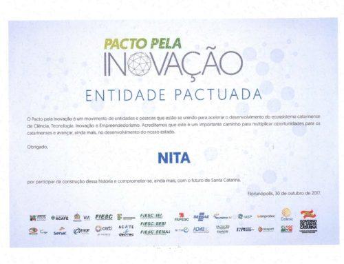 NITA PARTICIPA DE PACTO PELA INOVAÇÃO